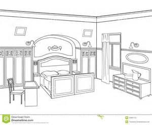 Drawn bedroom easy Furniture Bedroom Hand Stock Living