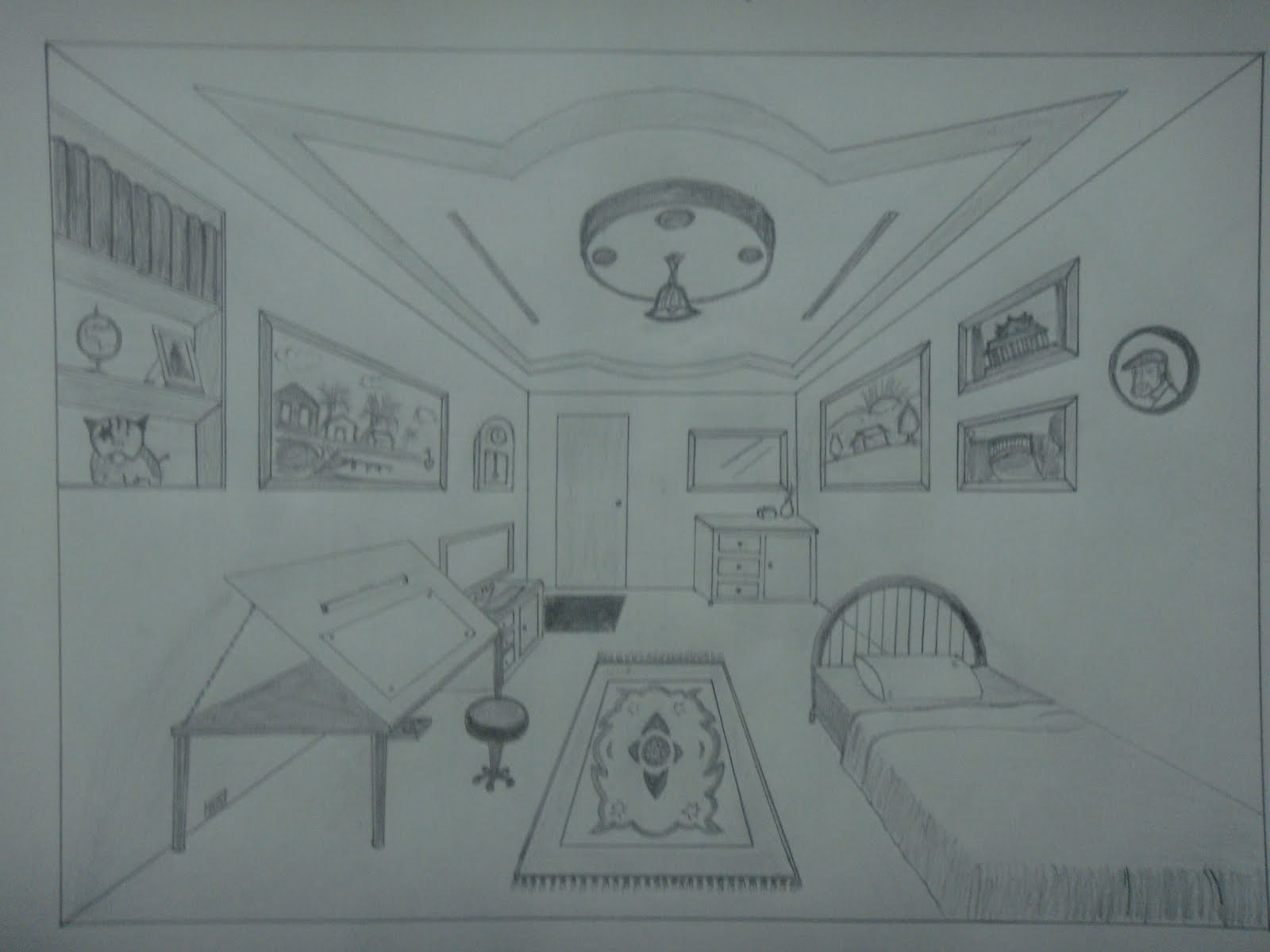 Drawn room easy Personal is can This Perspective