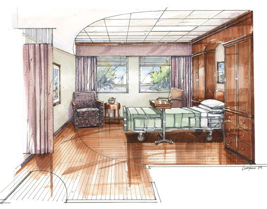 Drawn room hospital room Room Pinterest For For Drawn