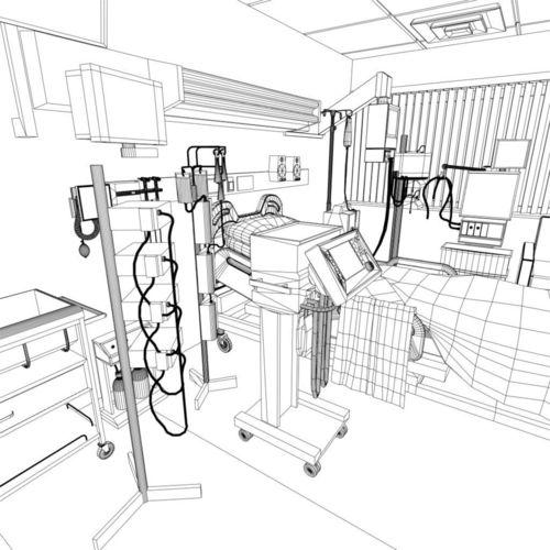 Drawn room hospital room Ma rooms mb AR
