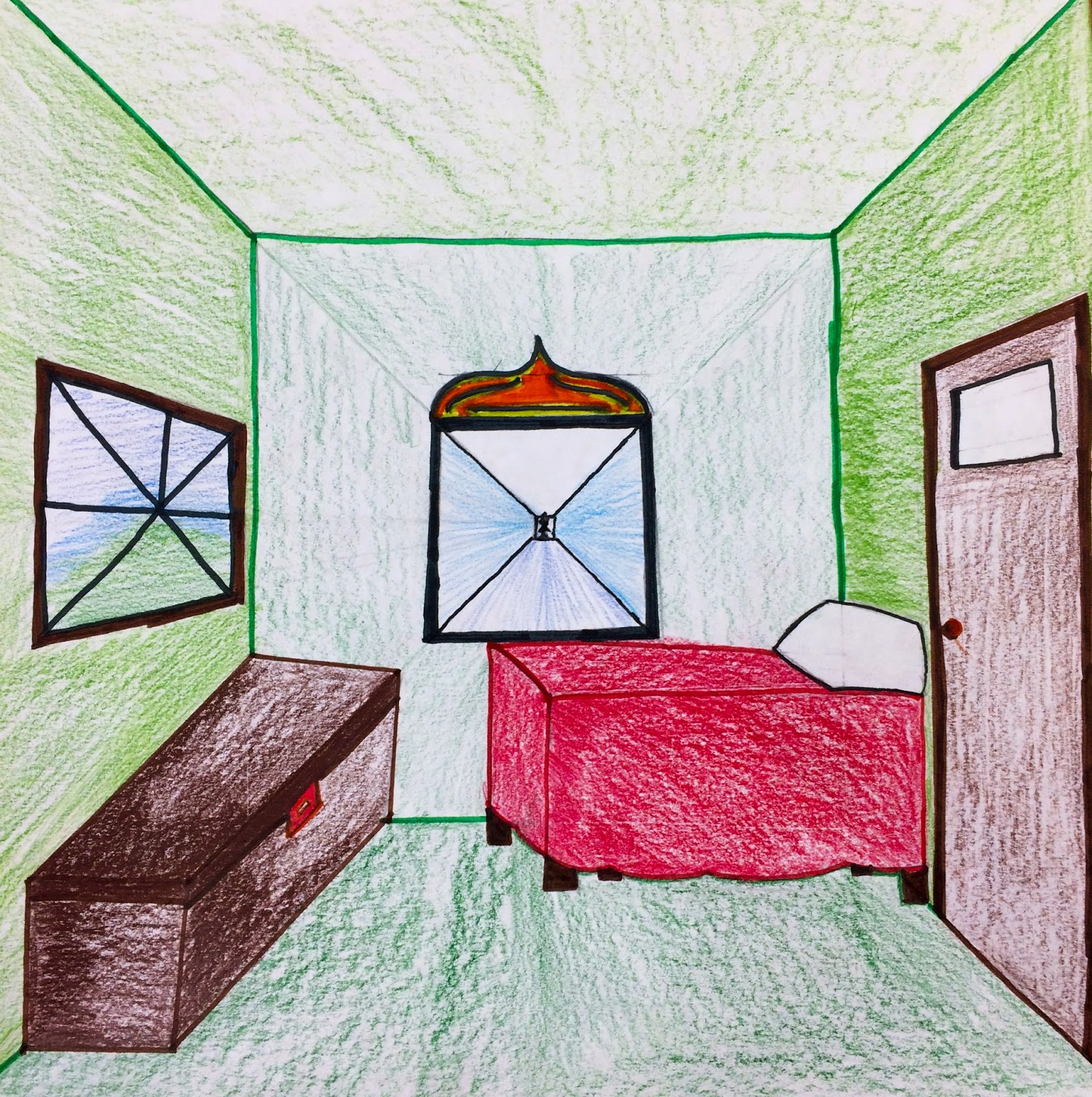 Drawn room imaginary One Draw Point Art Helpful