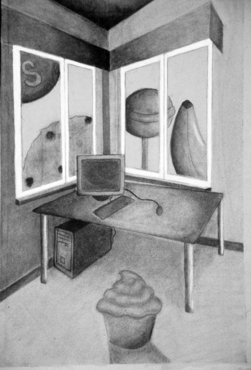 Drawn room imaginary Surreal assignment of  the