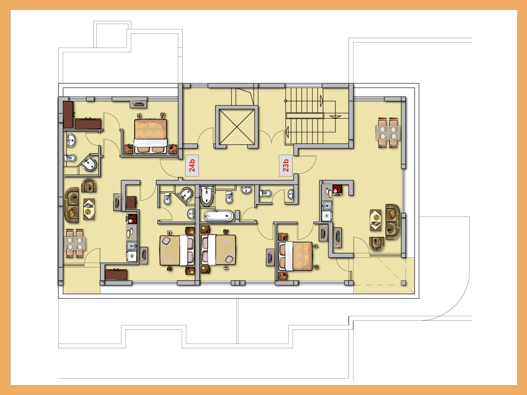 Drawn room kitchen room And Design Kitchen Home Living