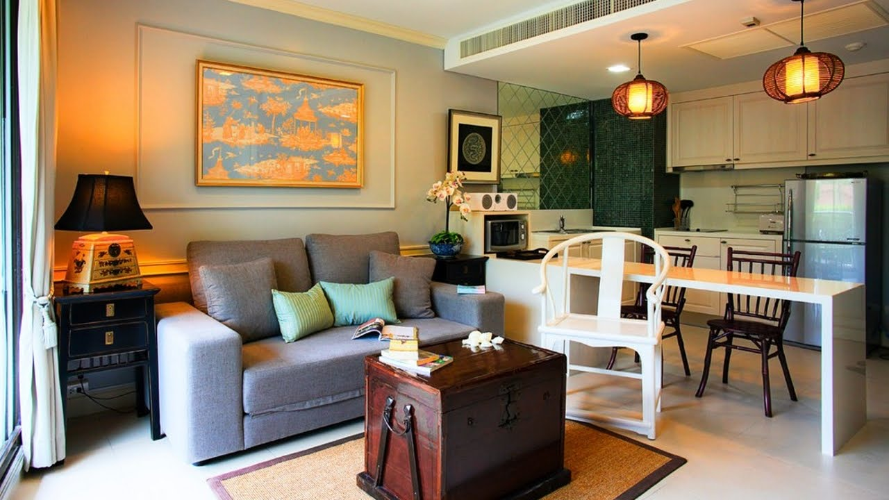 Drawn room kitchen room Room Small  Living Combo