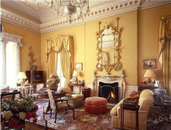 Drawn room living room •♥ •:*´¨`*:•♥• victorian  Room