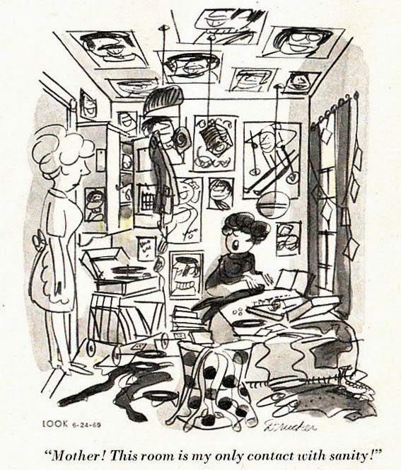 Drawn room messy Mike May terrifically Cartoons: one