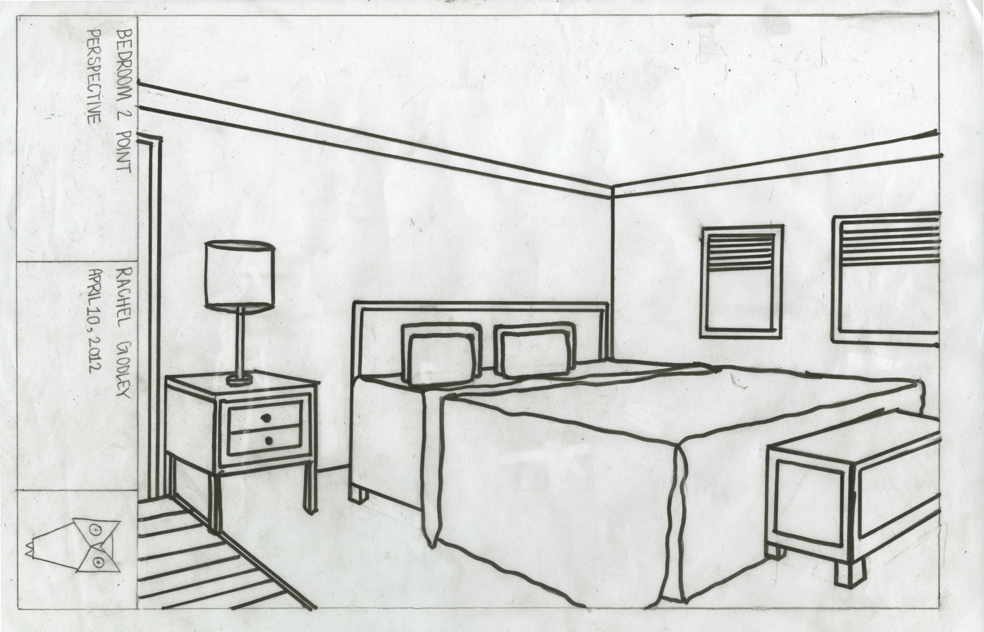 Drawn bedroom basic interior design Of Gifts Bedroom Drawing draw