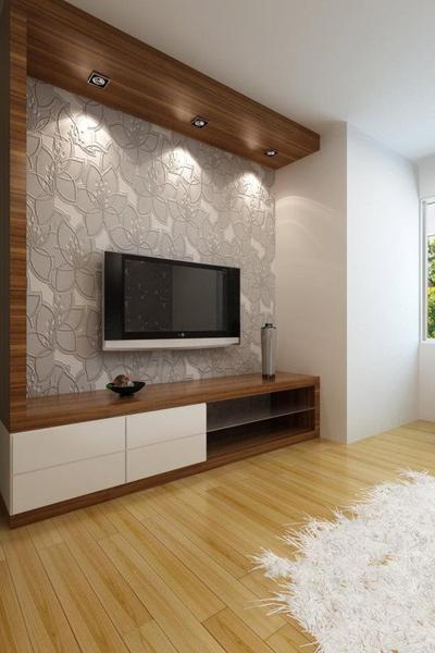 Drawn room simple Decoração Panels LED bedrooms