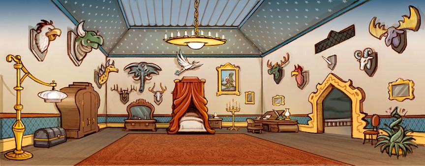 Drawn room trophy room L Trophy Room Room James