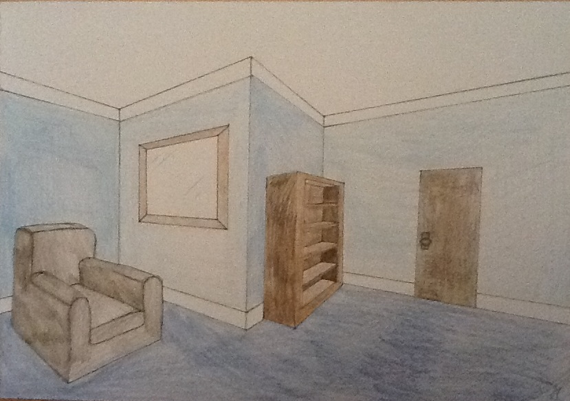 Drawn room two By drawn perspective AlexCliffy92 DeviantArt