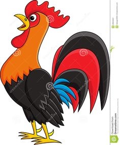 Drawn rooster cartoon Search rooster Google cute squid