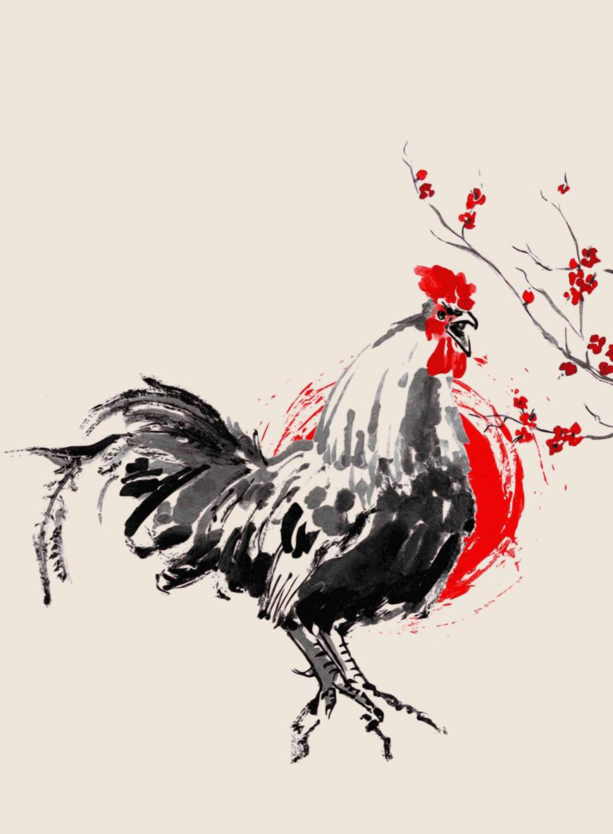 Drawn rooster mean To of personally and the