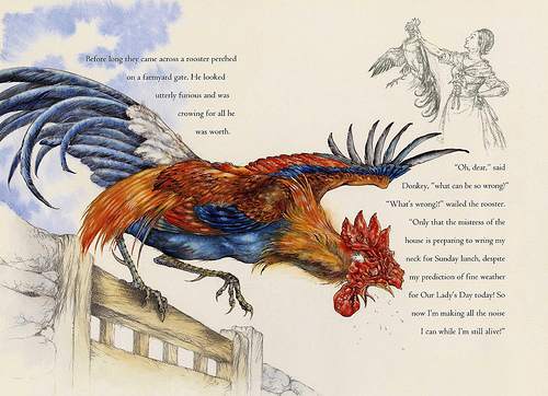 Drawn rooster realistic Might of Bits below) rarely