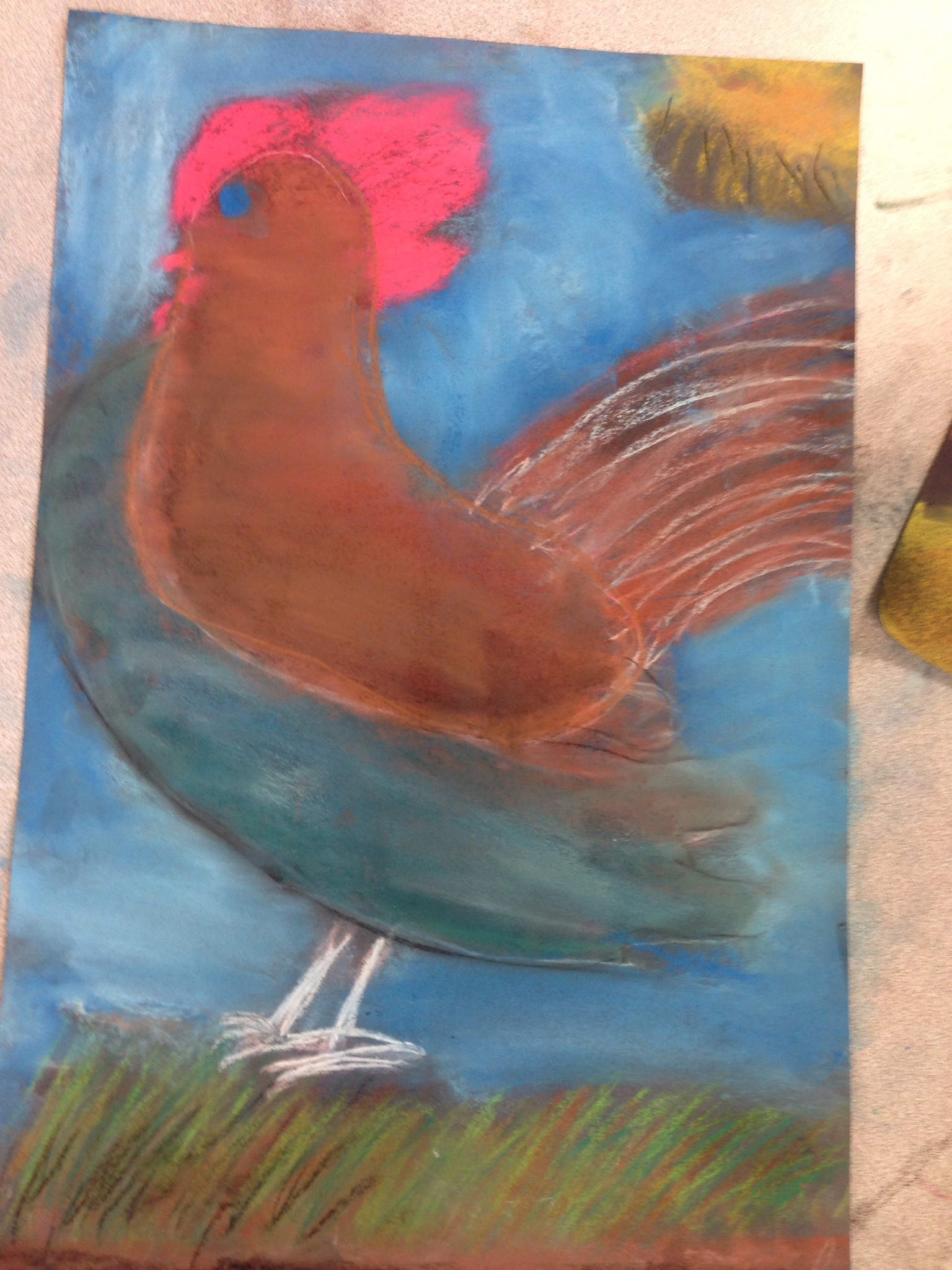Drawn rooster rodeo Roosters In 160 Grade Rodeo