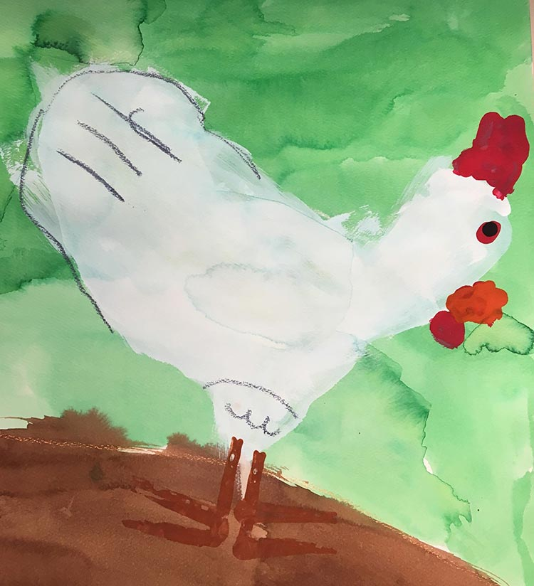 Drawn rooster rodeo Gallery: shapes chickens and using