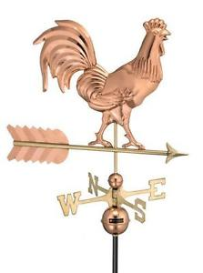 Drawn rooster rooster weathervane Weathervanes Rooster Copper Antique Weathervane