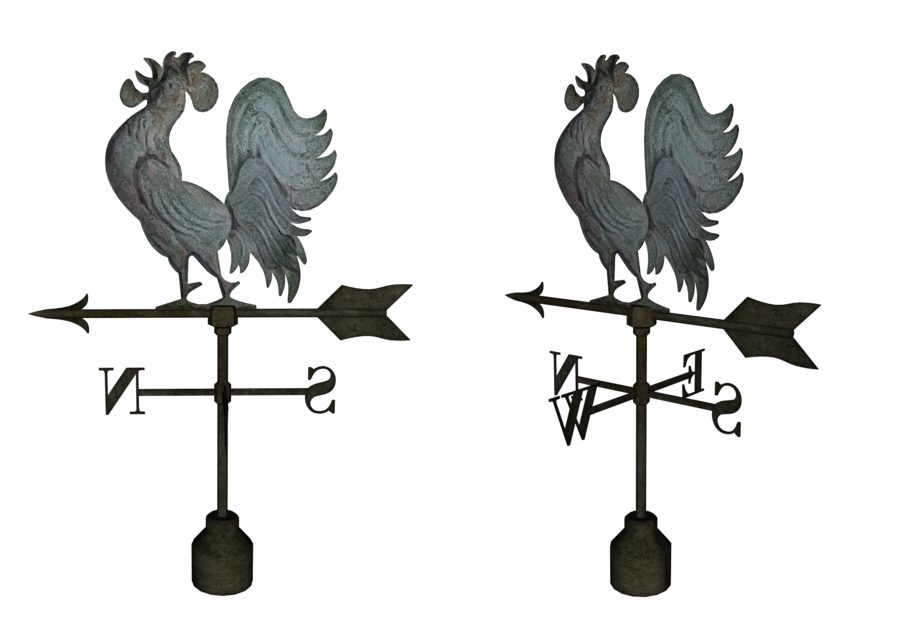 Drawn rooster rooster weathervane Pic source Silhouette Weathervane Rooster