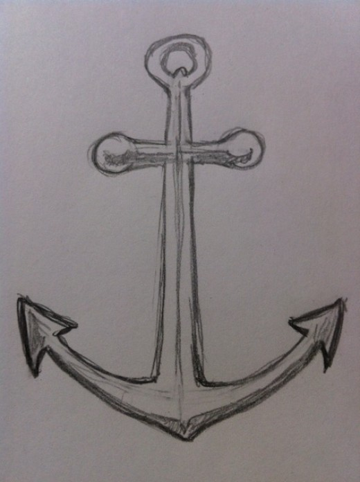 Drawn rope awesome Anchor How an to