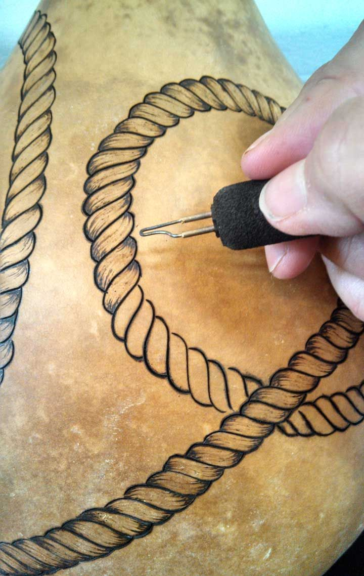 Drawn rope awesome On drawing ideas Gourd Rope