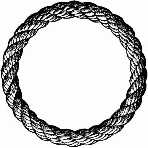 Drawn rope black and white Sketched Sketches 59 ring Pinterest