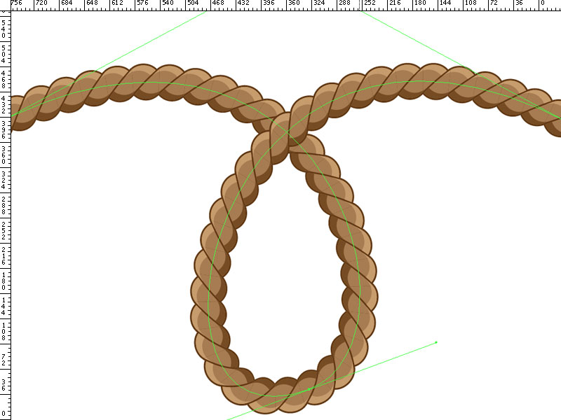 Drawn rope braided rope As Create In Fancy a