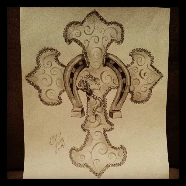 Drawn rope cross With for Haeg drawings best