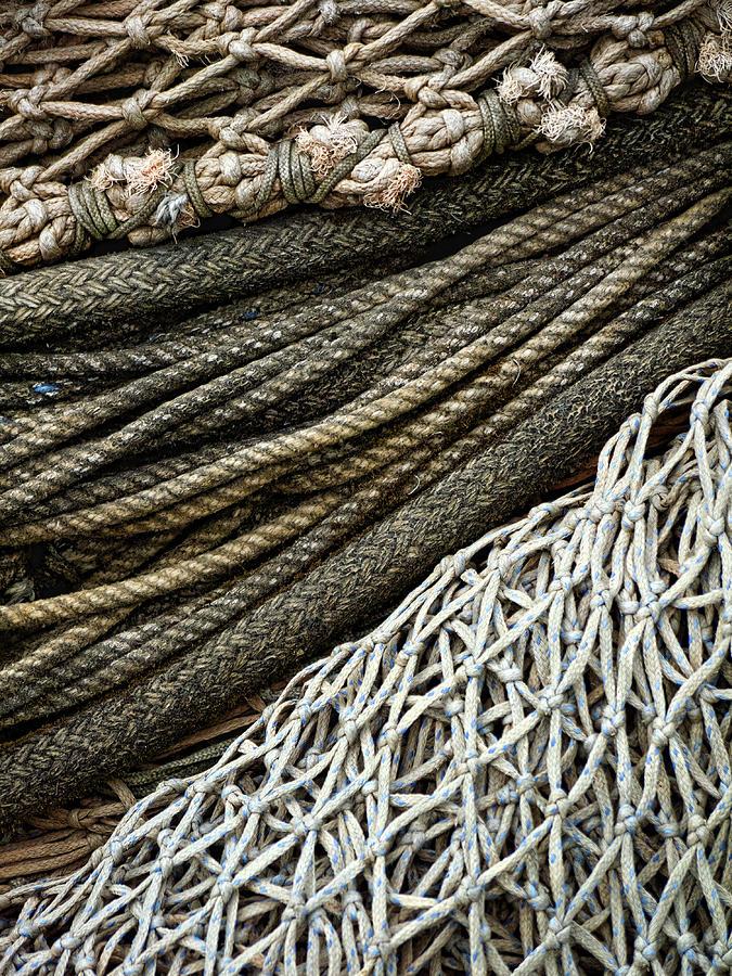 Drawn rope fishing Nets  Fishing