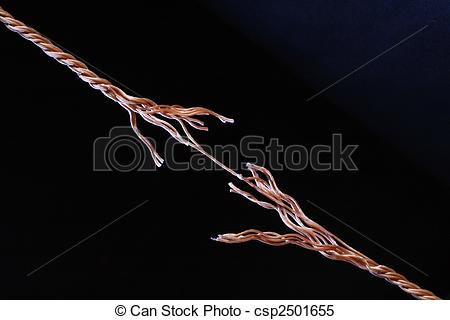 Drawn rope frayed rope About break Illustrations Rope Rope