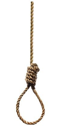 Rope clipart gallows #1