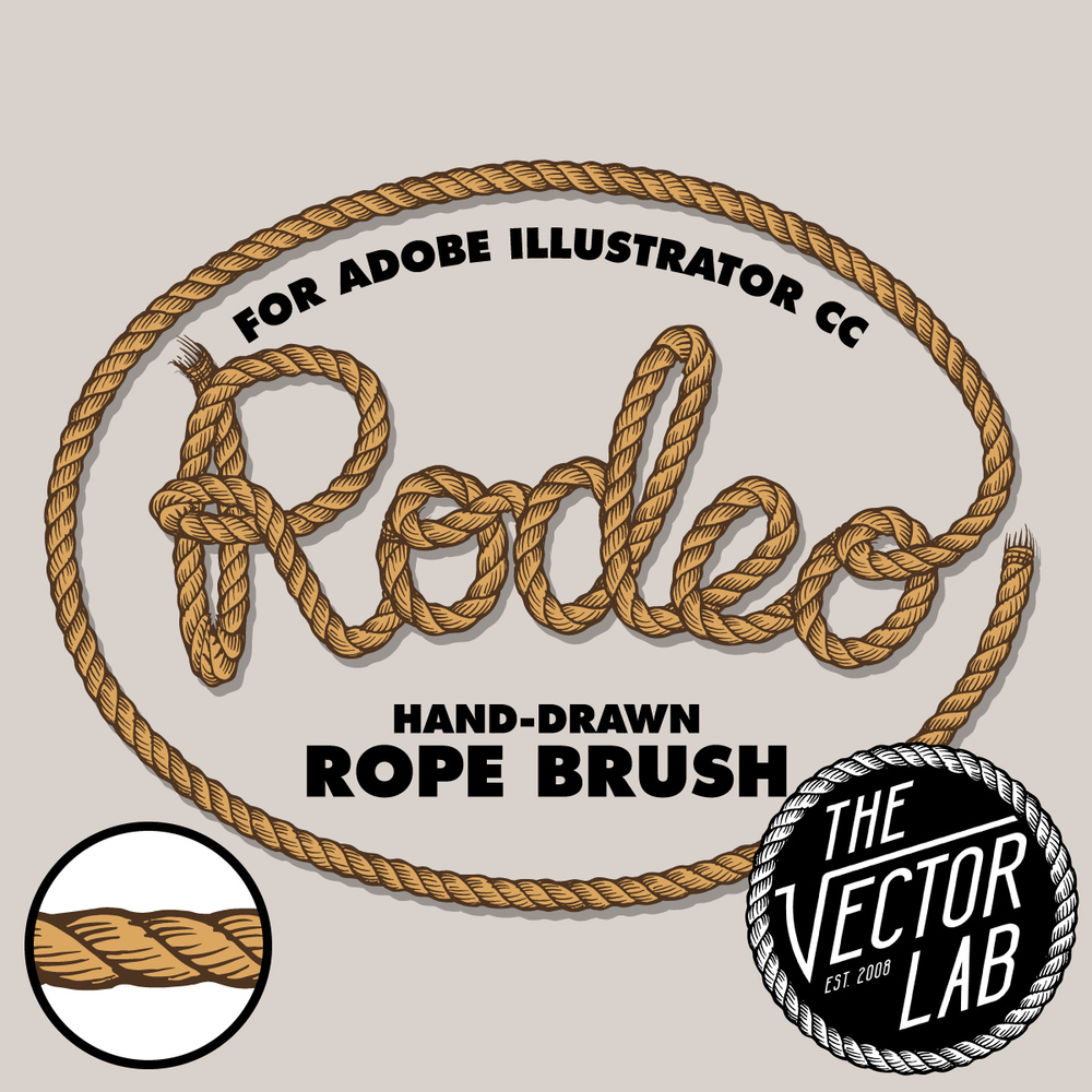 Drawn rope graphic If the Download] Brushes image