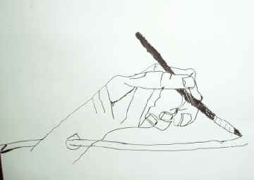 Drawn rope hand holding Lesson Hands  Art Ideas:
