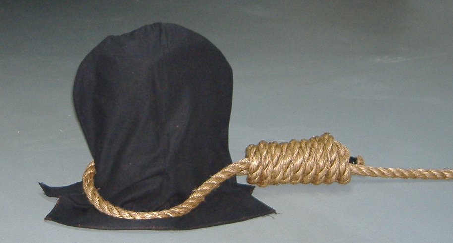 Drawn rope hang rope Is Death criminals the they