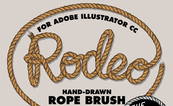 """Drawn rope illustrator With High Code """" ROPE"""