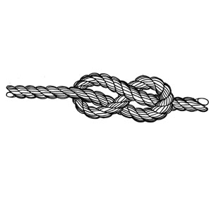 Drawn rope knotted rope + Create KNOTS Pinterest Stighlorgan