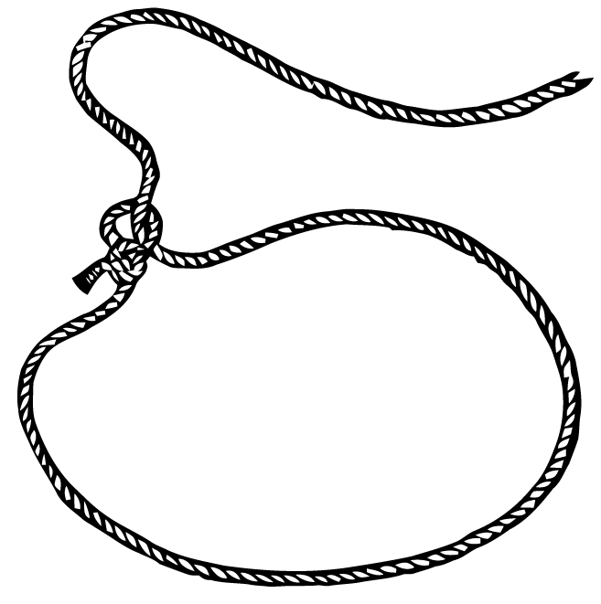 Drawn rope lasso Download Transparaent Free  Clip