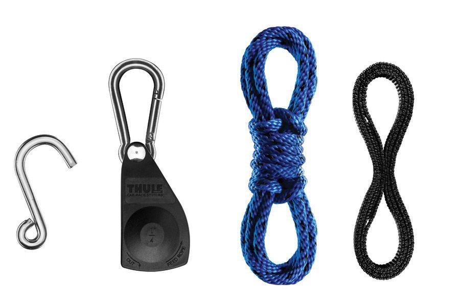 Drawn rope loop drawing Thule Ropes Rack Quick Thule