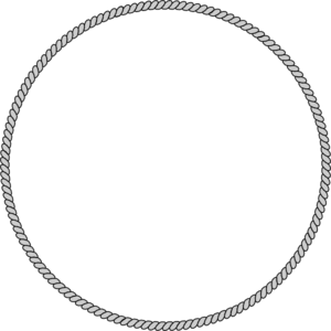 Drawn rope ring vector Ring Clip Art art vector