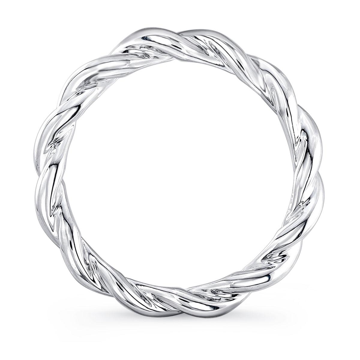 Drawn rope rope twist Rings engagement Twist Rope uneek