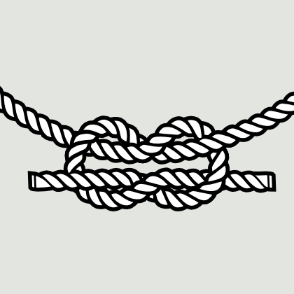 Drawn rope twisted rope Rope in in InkscapeForum vector