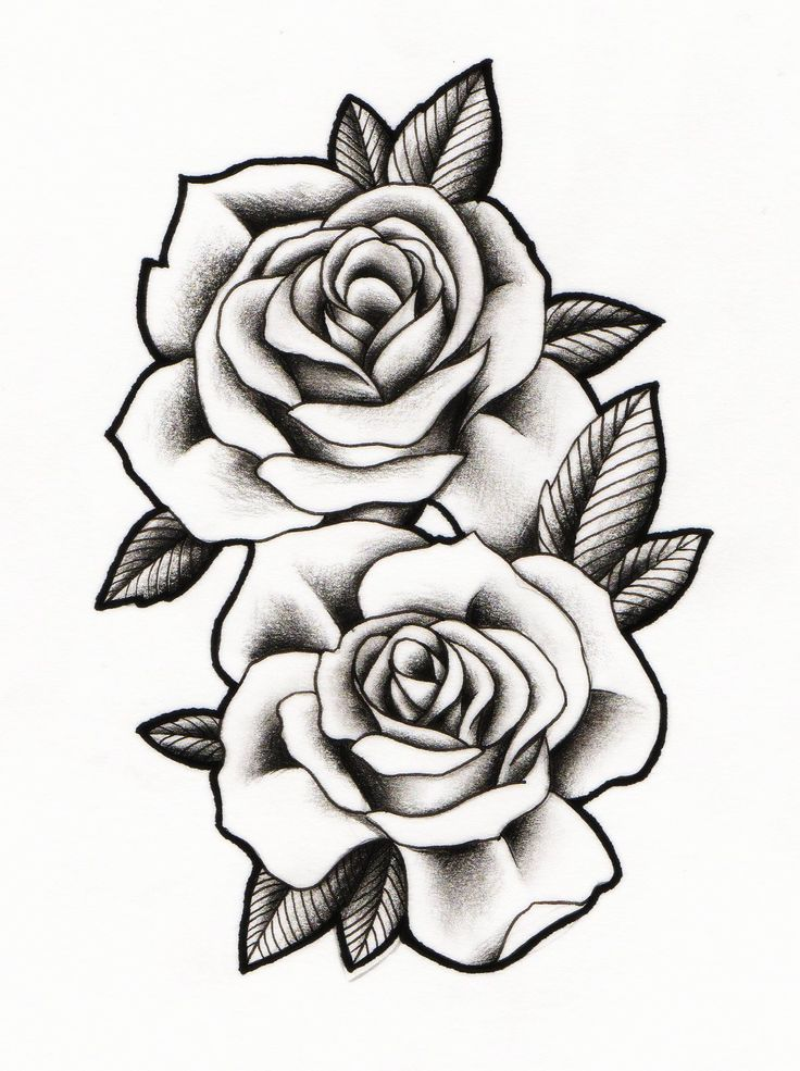 Drawn rose 11 year old Tattoo Madeleine drawing Rose TattoosRose