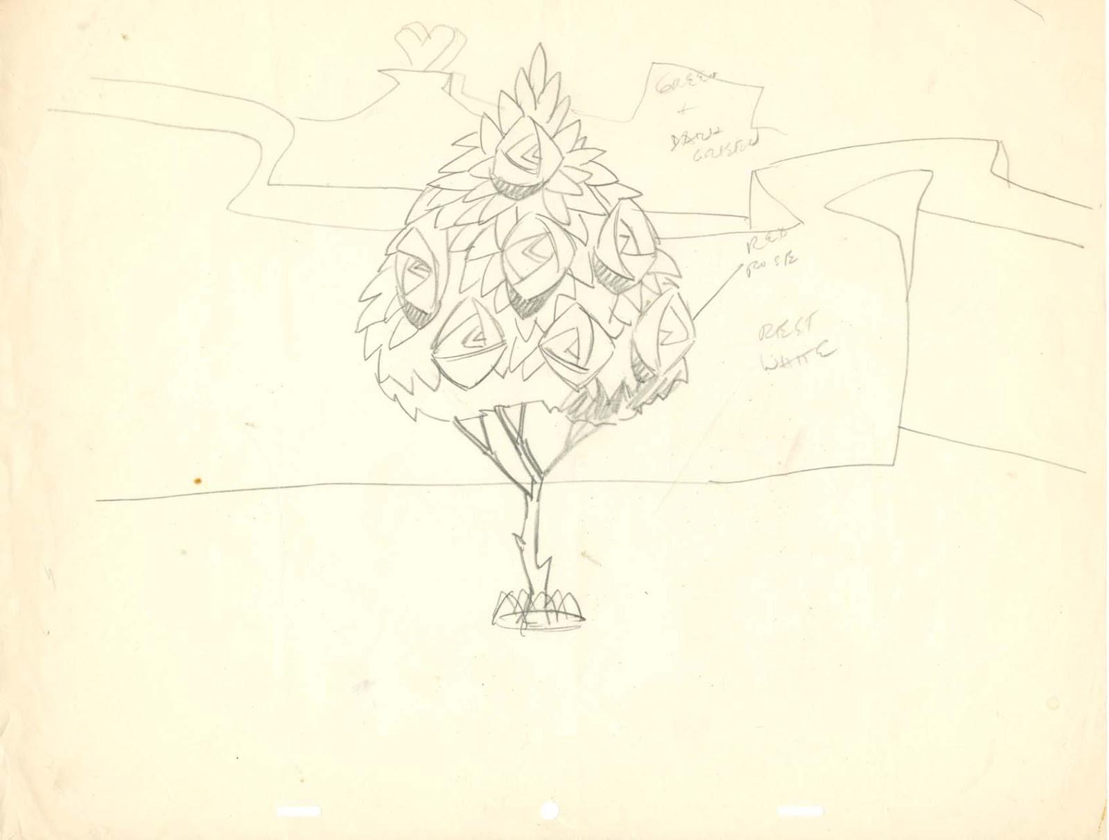 Drawn rose alice in wonderland Image  drawing layout drawing