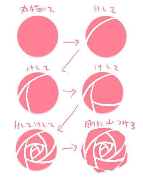 Drawn rose anime Draw a Best drawings be