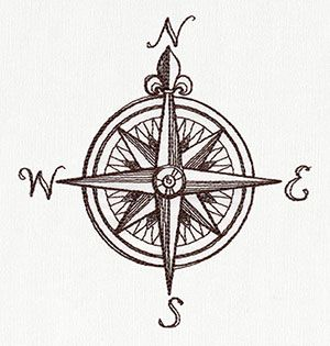 Drawn compass easy List ideas Embroidery and Nauticus