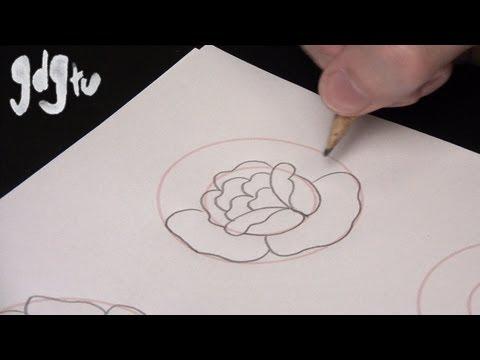 Drawn rose basic Basic Draw to to Tattoo