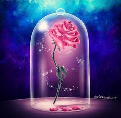 Drawn rose beauty and the beast Draw the and Beauty beauty