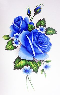 Drawn rose blue rose Rose ideas Best on Pinterest