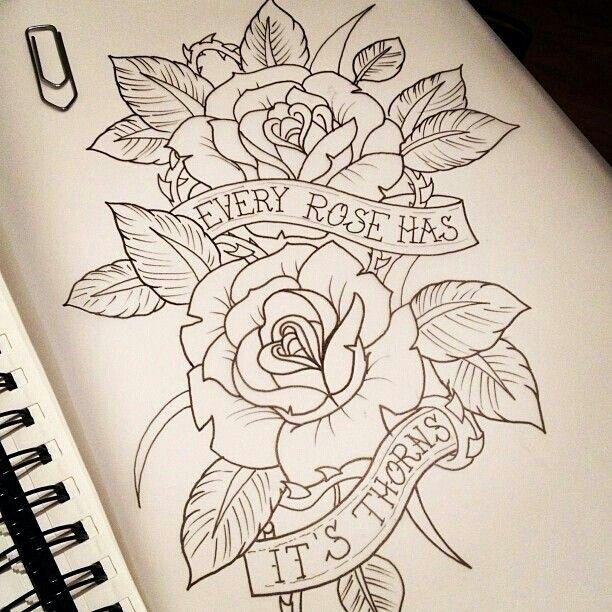 Drawn rose bush half sleeve Has  Pinterest on tattoo