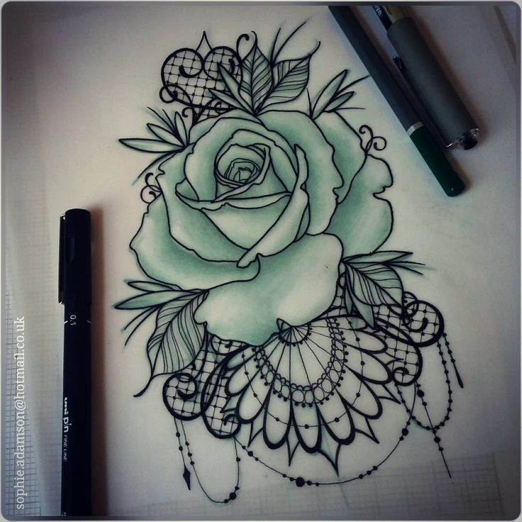 Drawn rose bush half sleeve Ideas tattoo maybe on rose