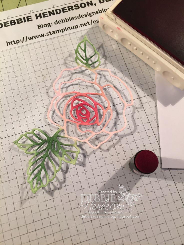 Drawn rose bush stamp YouTube Designs: Rose & Stamp
