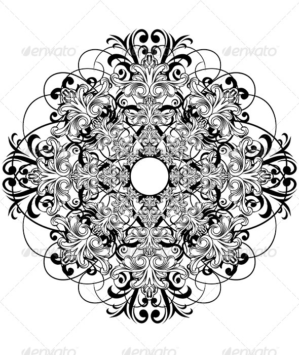 Drawn rose creative Background abstract Rose ceiling